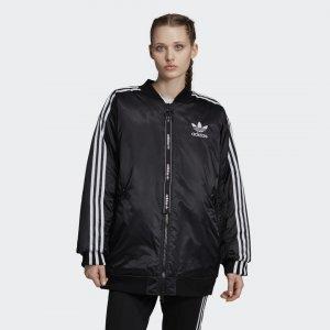 Утепленная куртка-бомбер Originals adidas. Цвет: черный