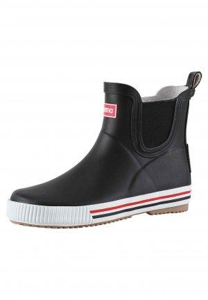 Резиновые сапоги Ankles Черные Reima. Цвет: черный