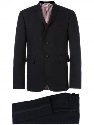 Классический костюм-двойка Thom Browne. Цвет: черный