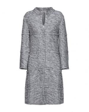 Пальто CHARLOTT. Цвет: серый