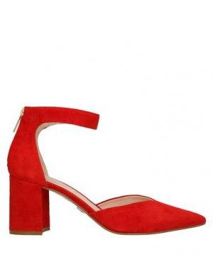 Туфли CARMENS. Цвет: красный