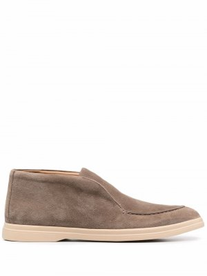 Ботинки дезерты 12 STOREEZ. Цвет: коричневый