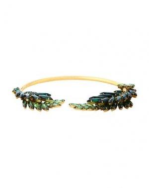 Ожерелье ELIZABETH COLE. Цвет: изумрудно-зеленый