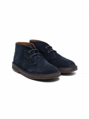 Ботинки дезерты Pèpè. Цвет: синий