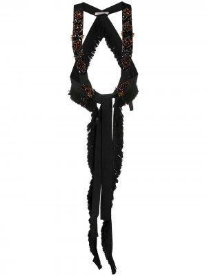 Декорированный жилет Dorothee Schumacher. Цвет: черный