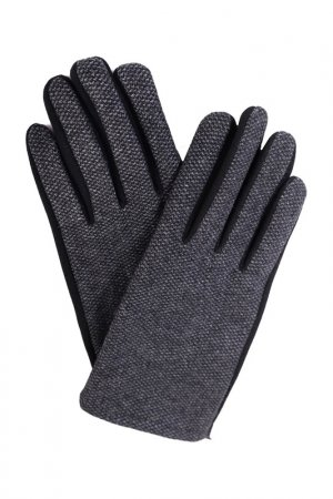 Перчатки JOHN TRIGGER. Цвет: черный