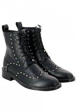 Ботинки JIMMY CHOO. Цвет: черный