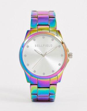 Женские часы с переливающимся эффектом -Мульти Bellfield