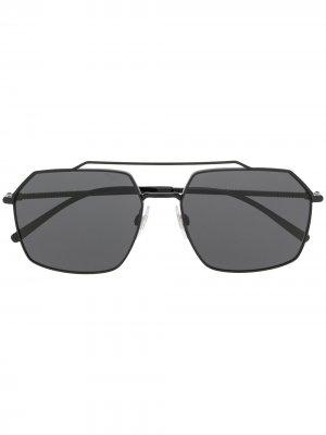 Солнцезащитные очки DG2250 в квадратной оправе Dolce & Gabbana Eyewear. Цвет: черный