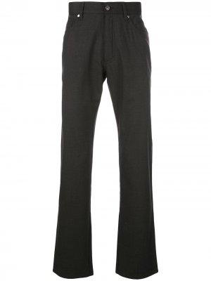 Классические строгие брюки Ermenegildo Zegna. Цвет: серый