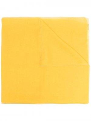 Легкий шарф Max Mara. Цвет: желтый