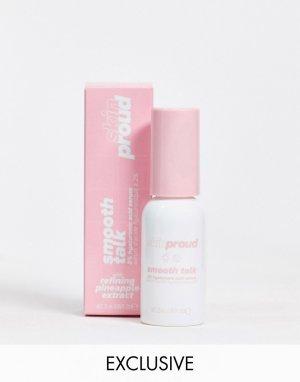 Гель-сыворотка с гиалуроновой кислотой (2%) Skin Proud Smooth Talk – эксклюзивно для ASOS-Бесцветный Lottie