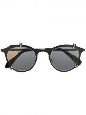 Солнцезащитные очки MM-0049 Broken Lens No.1 MASAHIROMARUYAMA. Цвет: черный