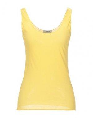 Майка ALPHA STUDIO. Цвет: желтый