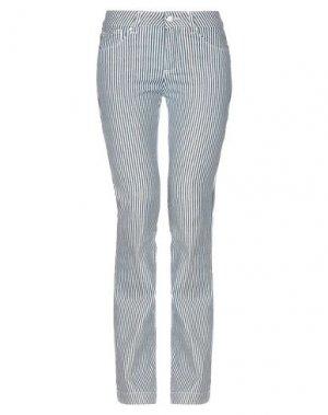Джинсовые брюки MICHAEL COAL. Цвет: белый