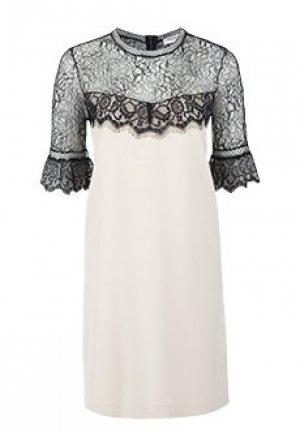 Платье ANNA RACHELE. Цвет: бежевый