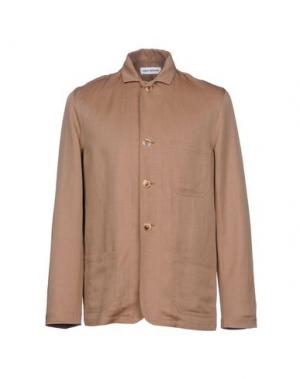 Пиджак UMIT BENAN. Цвет: светло-коричневый