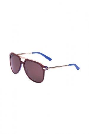 Очки солнцезащитные Enni Marco. Цвет: черный, серебристый