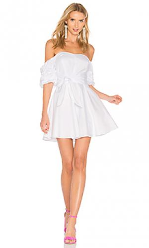 Платье austin Amanda Uprichard. Цвет: белый