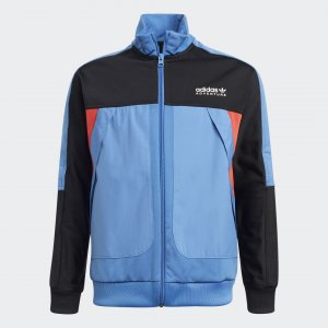 Олимпийка Adventure adidas. Цвет: синий