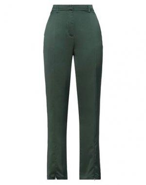 Повседневные брюки GLAMOROUS. Цвет: темно-зеленый