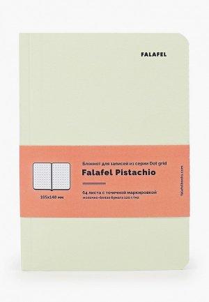 Блокнот Falafel. Цвет: желтый