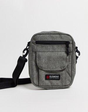 Серая сумка через плечо -Серый Element