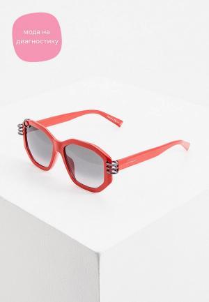 Очки солнцезащитные Givenchy GV 7175/G/S C9A. Цвет: красный