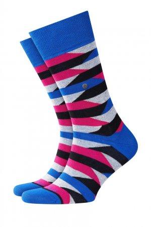 Разноцветные носки Fragments Burlington. Цвет: синий