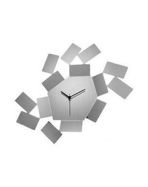 Настенные часы ALESSI. Цвет: серебристый