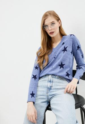 Пуловер Marks & Spencer. Цвет: голубой
