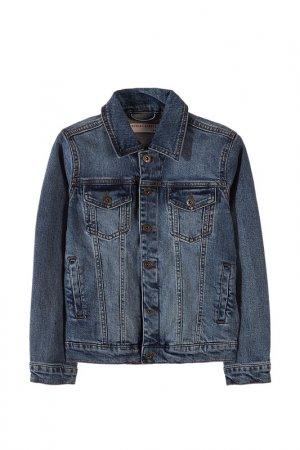 Куртка джинсовая 5.10.15.. Цвет: голубой