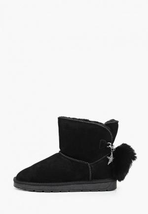 Полусапоги Baden. Цвет: черный