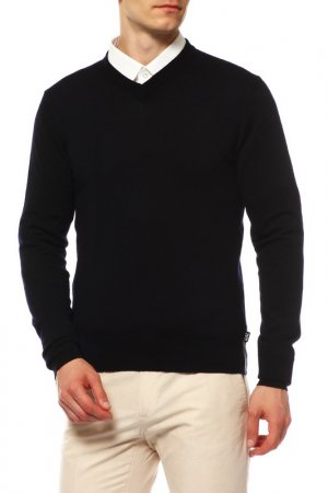 Пуловер Ea7. Цвет: темно-синий