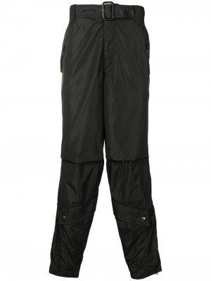 Классические брюки карго Givenchy. Цвет: черный