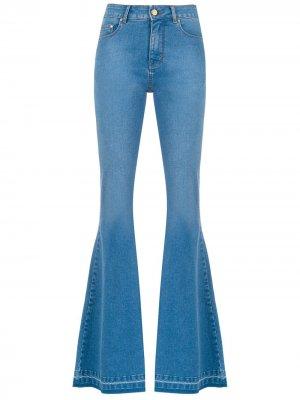 Расклешенные джинсы Denver Amapô. Цвет: синий