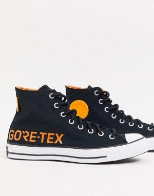 Черные кроссовки Chuck Taylor All Star Hi Gore-Tex-Черный Converse