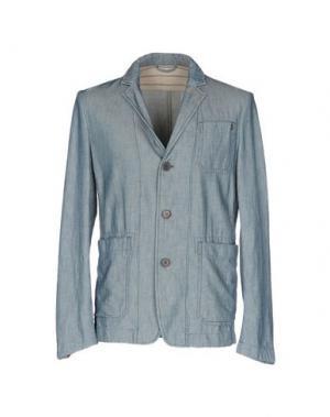 Пиджак PEOPLE LAB.. Цвет: синий