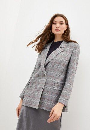 Пиджак Blugirl Folies. Цвет: серый