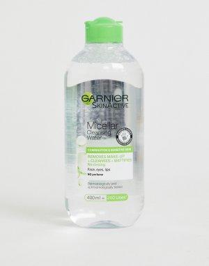 Мицеллярная вода 400 мл для комбинированной кожи Garnier