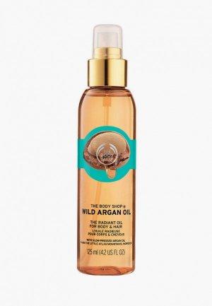 Масло для тела The Body Shop и волос Дикая Аргана, 125 мл. Цвет: прозрачный