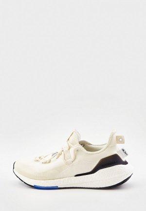 Кроссовки adidas ULTRABOOST 21 X PARLEY. Цвет: бежевый
