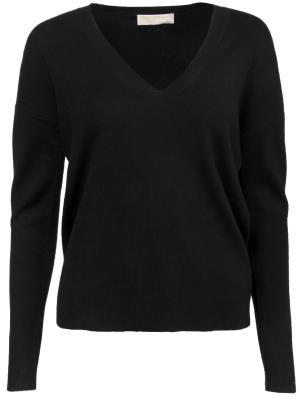 Облегающий пуловер MICHAEL KORS. Цвет: черный