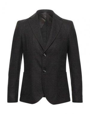 Пиджак HAMAKI-HO. Цвет: темно-коричневый