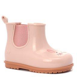 Резиновые сапоги 82547 бежево-розовый ZAXY