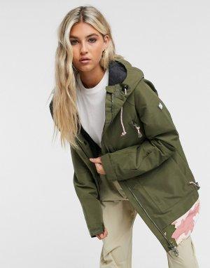 Зимняя куртка оливкового цвета -Зеленый DC