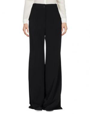 Повседневные брюки GRINKO. Цвет: черный