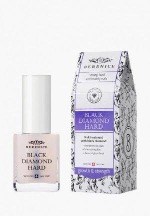 Средство для ногтей и кутикулы Berenice укрепления с частицами черного алмаза / Black diamond hard, 15 г. Цвет: прозрачный
