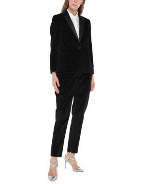 Классический костюм BRIAN DALES. Цвет: черный