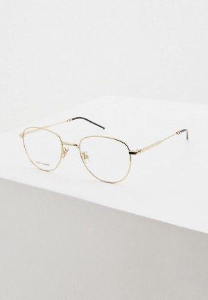 Оправа Christian Dior Homme DIOR0238F J5G. Цвет: золотой
